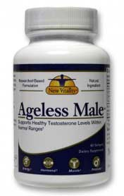 one bottle of ageless male supplement